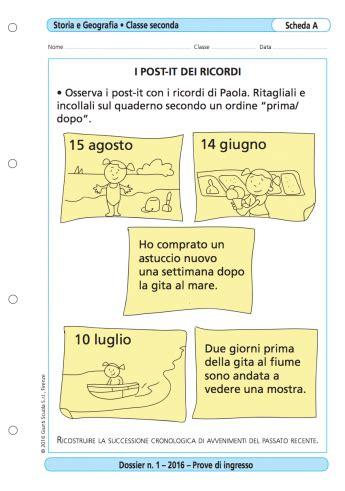 Prove Ingresso Seconda Media by Prove D Ingresso Storia E Geografia Classe 2 La Vita