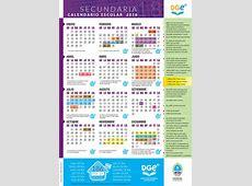 Calendario DGE – SECUNDARIA 2018001 Prensa Gobierno de