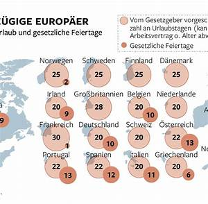 Urlaub Berechnen Teilzeit : deutsche arbeitnehmer haben im schnitt 29 tage urlaub welt ~ Themetempest.com Abrechnung