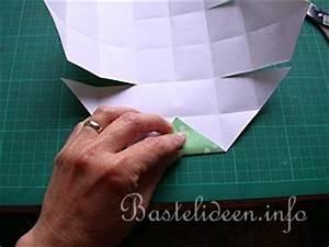 Anleitung Schachtel Falten : bastelanleitung origami schachtel papierbasteln ~ Yasmunasinghe.com Haus und Dekorationen