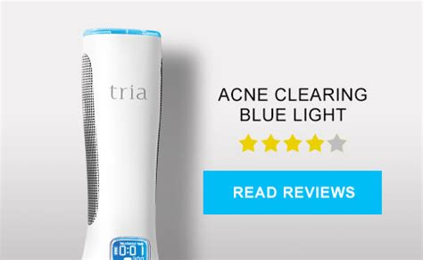 tria acne clearing blue light tria reviews customer ratings comments
