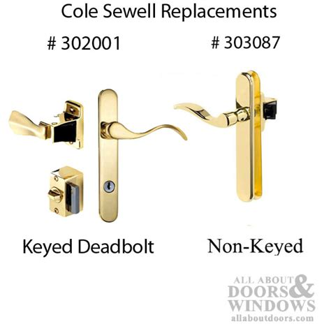 surface mount cole sewell pella storm door handle  locking lever discontinued