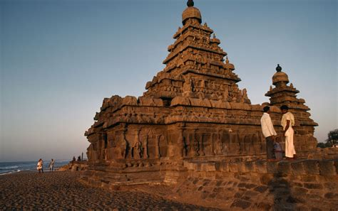 mahabalipuram beach india