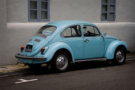Baby Blue Vw Beetle Bug Ii
