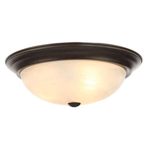 bronze flush ceiling light designers fountain reedley collection 3 light flush
