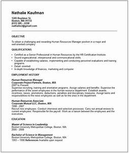 example resume november 2015 With human resources manager resume sample