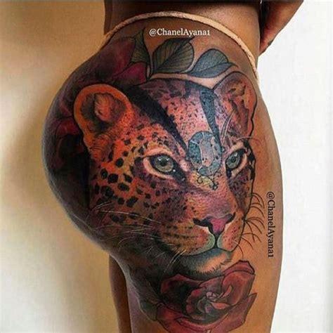 chanelayana1 wcw colored tatts on skin