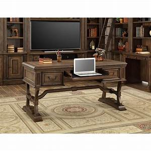 Parker House Aria Writing Desk With Usb Power Center In