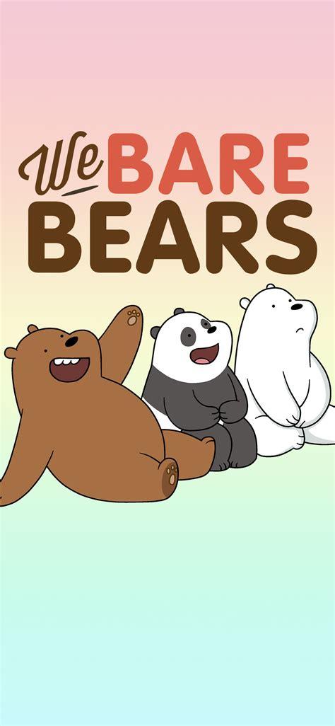 bare bears desktop mobile wallpapers vector ai