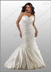A few extra pounds bride how to choose wedding dresses for Plus size sexy wedding dresses