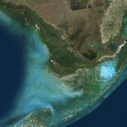 Florida 2005 Everglades Animation Land Change