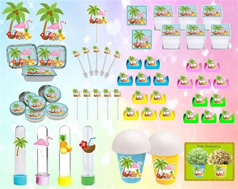 kit festa tropical flamingo 183 pe 231 as r 234 90 em