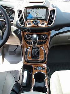Ford Escape S Se Titanium Interior Burl Wood Dash Trim Kit
