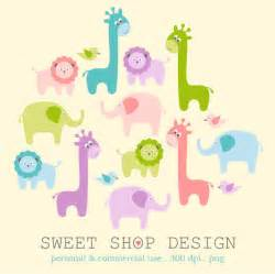 Baby Shower Animal Clip Art Free