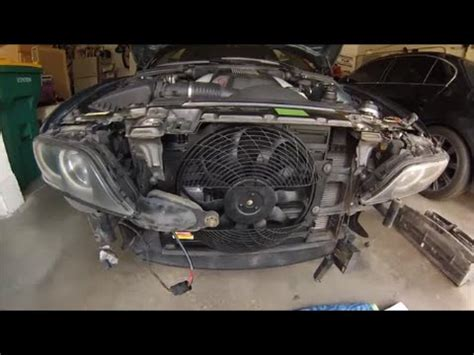bmw e39 auxiliary fan replacement