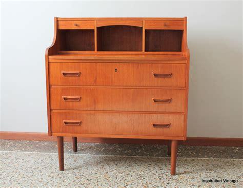 bureau 馥s 60 bureau secrétaire danois dyrlund 60 39 s inspiration vintage