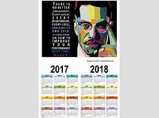 Calendar 20172018 Malcolm X Adversity – October Gallery