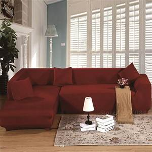 sectional couch covers l shaped sofa cover elastic With l shaped sectional sofa slipcovers