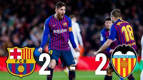 Barcelona vs Valencia [2-2], La Liga 2019 - MATCH REVIEW ...