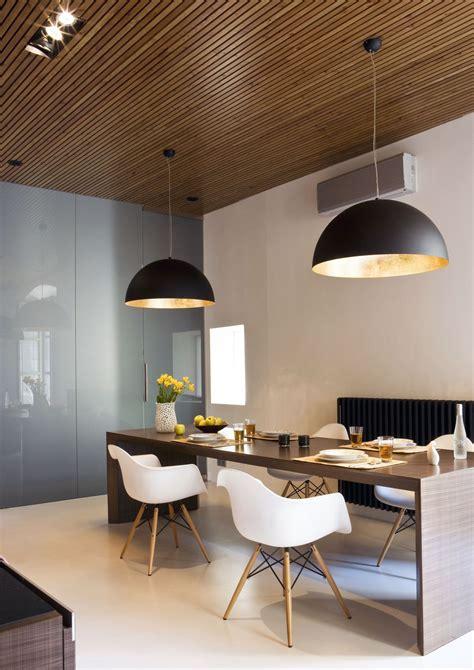Dining Table In Bronze Metal Panel Design Interior