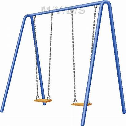 Swing Clipart Swings Clip Cliparts Swinging Number