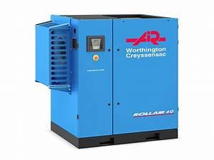Compresseur A Vis : compresseur d 39 air vis rollair 40 125 nouvelle ~ Melissatoandfro.com Idées de Décoration