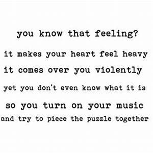 Feeling Uneasy Quotes Heart. QuotesGram