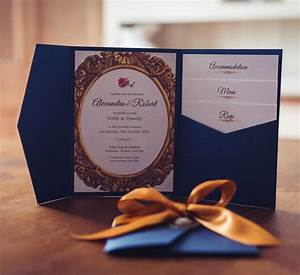 beauty and the beast themed wedding invitation luxury With beauty and the beast wedding invitations wording