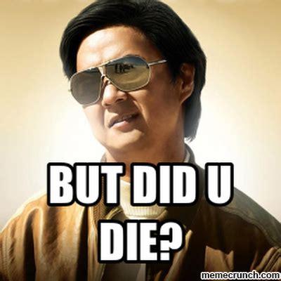 Mr Chow Memes - mr chow die