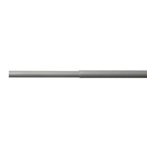 closetmaid 6 ft 8 ft nickel hanging rod 32052 the