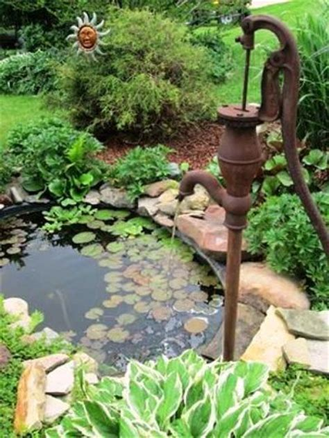 Displaying antique pumps in your garden   Flea Market