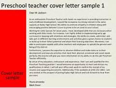 Preschool Teacher Cover Letter Kindergarten Teacher Cover Letter Sample LiveCareer Preschool Teacher Cover Letter Examples Preschool Teacher Cover Letter