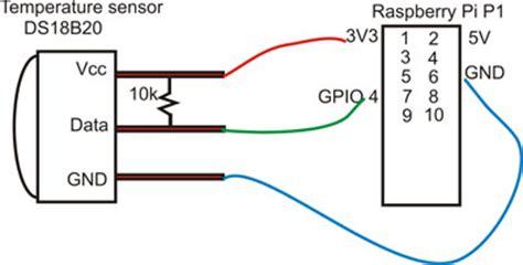 rs pi 1 wire ds18b20 temperature sensor for raspberry pi ebay