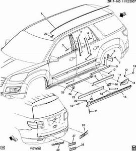 Gmc Acadia Parts Diagram