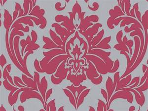 Free Delivery On Majestic Hot Pink Damask Wallpaper ...