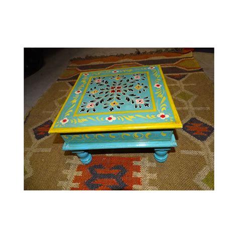 coussin 60x60 pour canapé table à coussin bazot 30x30cm bleue meubles indiens