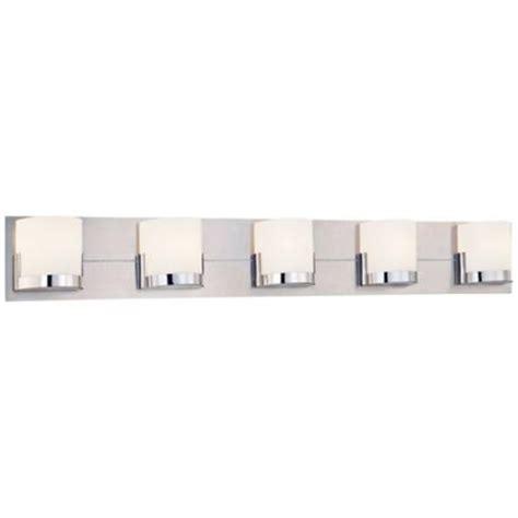 george kovacs convex   wide bathroom wall light