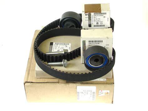 Vauxhall Timing Belt by 93188138 Astra G Y17dt Timing Belt Kit Genuine Vauxhall Part