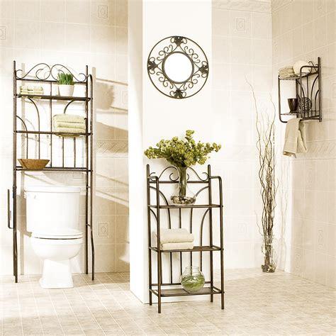 amazon com southern enterprises 3 bath storage set rubbed bronze painted finish kitchen