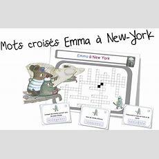 Mots Croisés  Emma à New York  Bout De Gomme