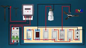 Electrical Switch Board Wiring Diagram   Diy House Wiring