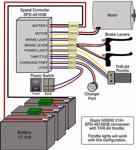 Razor Mx650 Wiring Diagram