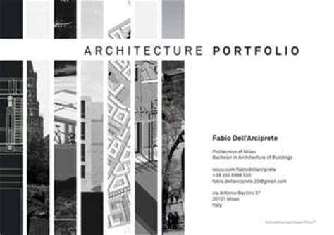 12066 architecture student portfolio layout architecture portfolio by fabio dell arciprete issuu