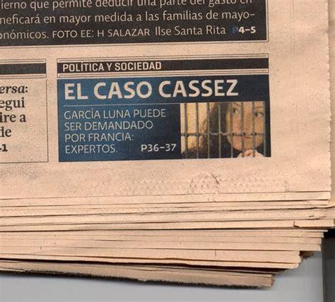 Ediciones Corondel: Caso Cassez