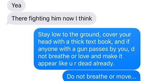 school shooter stalks texts   father  son
