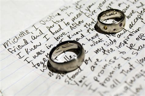 steps  writing  perfect personalized vows