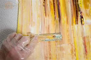 DIY Abstract oil painting... Cute and looks easy. Going to ...