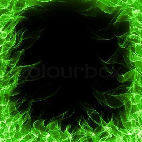 green fire stock photo colourbox