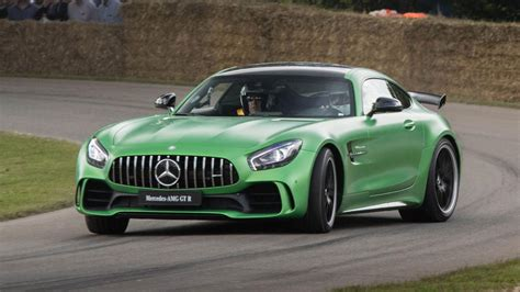 brabus  turned  mercedes amg gt    mph