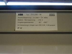 Nennspannung Berechnen : abb ceag zvl220 18 notbeleuchtungsanlage notstromanlage ebay ~ Themetempest.com Abrechnung